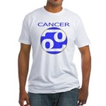 Astrological Zodiac Cancer Fitted T-Shirt
