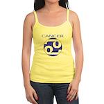 Astrological Zodiac Cancer Jr. Spaghetti Tank