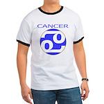 Astrological Zodiac Cancer Ringer T
