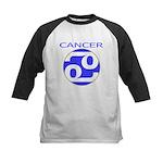 Astrological Zodiac Cancer Kids Baseball Jersey