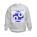 Astrological Zodiac Cancer Kids Sweatshirt