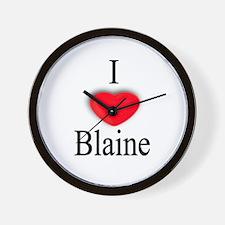 Blaine Wall Clock