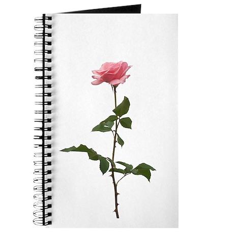 Pink Rose Faux Pastel Journal