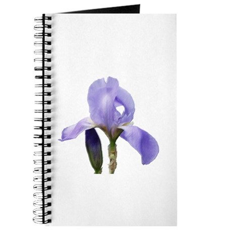 Blue Iris Faux Pastel Journal