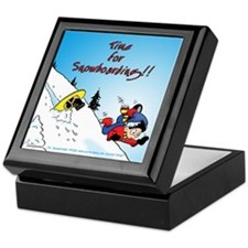 """Time for Snowboarding"" Keepsake Box"