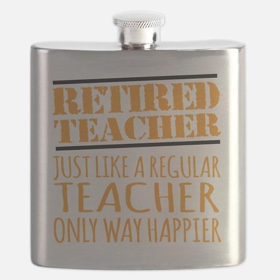 Cute Retired teacher Flask