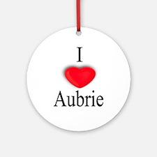 Aubrie Ornament (Round)
