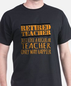 Funny Retired teacher T-Shirt