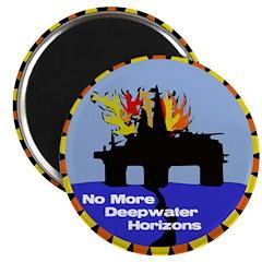 No More Deepwater Horizons Activist Magnet