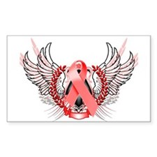 Awareness Tribal Red Decal
