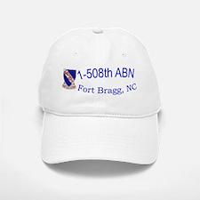 1st Bn 508th ABN Baseball Baseball Cap