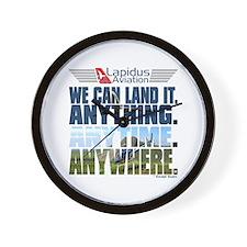LOST Lapidus Aviation Wall Clock