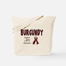 Think BURGUNDY Tote Bag