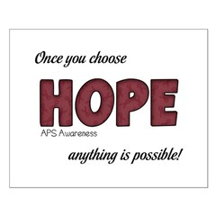 Once You Choose Hope - APS Posters