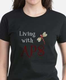 Living with APS - Dragonfly Tee