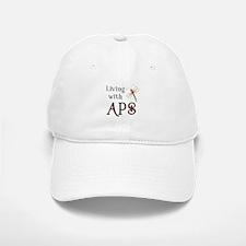 Living with APS - Dragonfly Baseball Baseball Cap