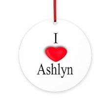 Ashlyn Ornament (Round)