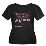 My Hero is Now My Angel - APS Women's Plus Size Sc