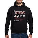 My Hero is Now My Angel - APS Hoodie (dark)
