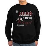 My Hero is Now My Angel - APS Sweatshirt (dark)