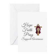 Hope Faith Pray Greeting Cards (Pk of 20)