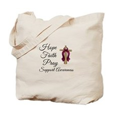 Hope Faith Pray Tote Bag