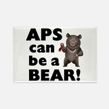 APS Can Be a Bear! Rectangle Magnet