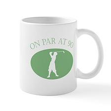 On Par At 90 Mug