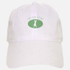 On Par At 90 Baseball Baseball Cap