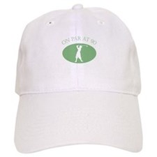 On Par At 90 Baseball Cap
