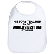 World's Best Dad - History Teacher Bib