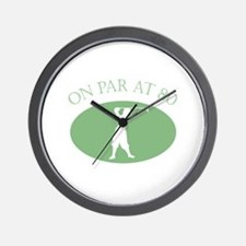 On Par At 80 Wall Clock