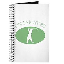 On Par At 80 Journal