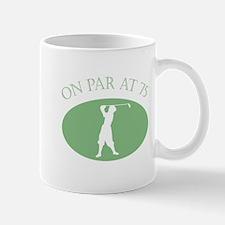 On Par At 75 Mug