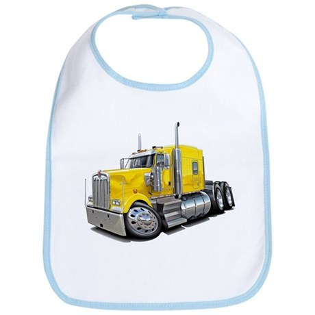 Kenworth W900 Yellow Truck Bib