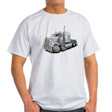 Kenworth W900 White Truck T-Shirt