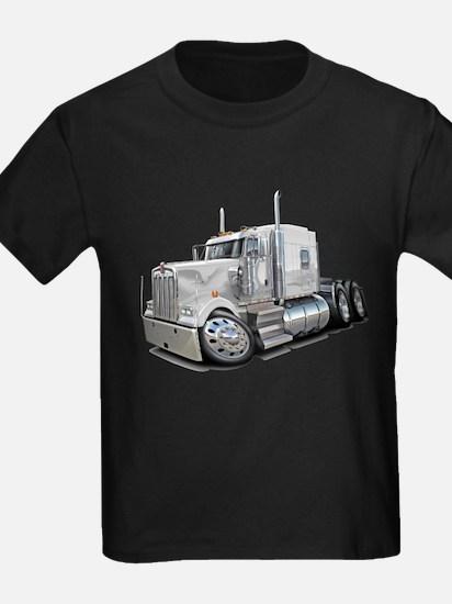 Kenworth W900 White Truck T