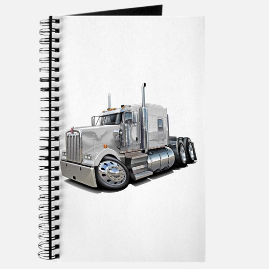 Kenworth W900 White Truck Journal