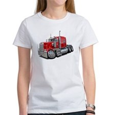 Kenworth W900 Red Truck Tee