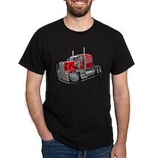 Kenworth W900 Red Truck T-Shirt