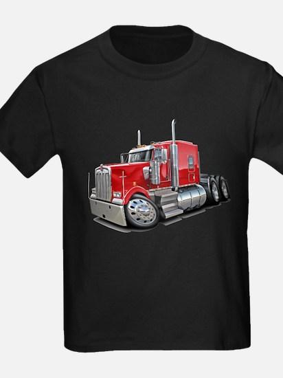Kenworth W900 Red Truck T