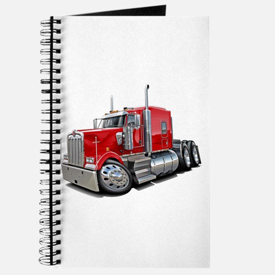 Kenworth W900 Red Truck Journal
