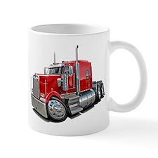 Kenworth W900 Red Truck Mug