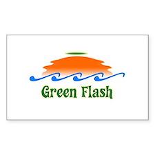 Green Flash Decal