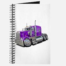 Kenworth W900 Purple Truck Journal