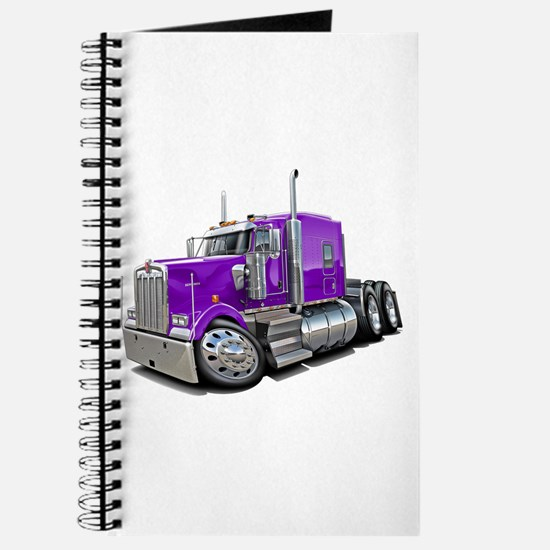 Kenworth W900 Purple Truck Journal