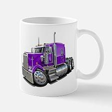 Kenworth W900 Purple Truck Mug