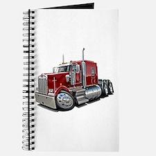 Kenworth W900 Maroon Truck Journal