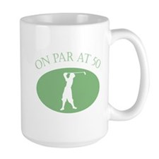 On Par At 50 Mug