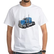 Kenworth W900 Lt Blue Truck Shirt